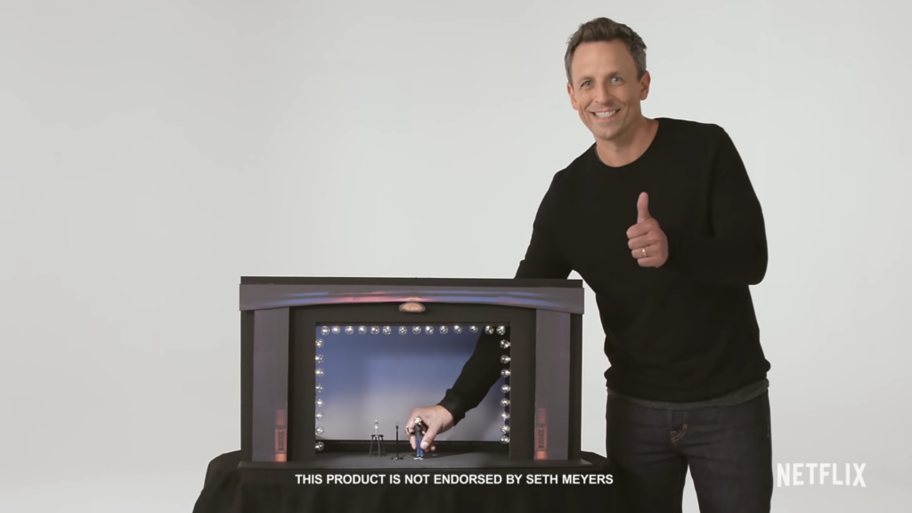 Seth Meyers's Netflix Comedy Special With Lobby Baby   Trailer   Everything You Need To Know
