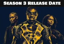 NETFLIX Series 'Black Lightning' Season 3 Release Date When is the series launching