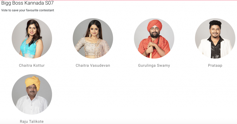 Bigg Boss Kannada 7 vote- Who will become the first person to get eliminated from the show?