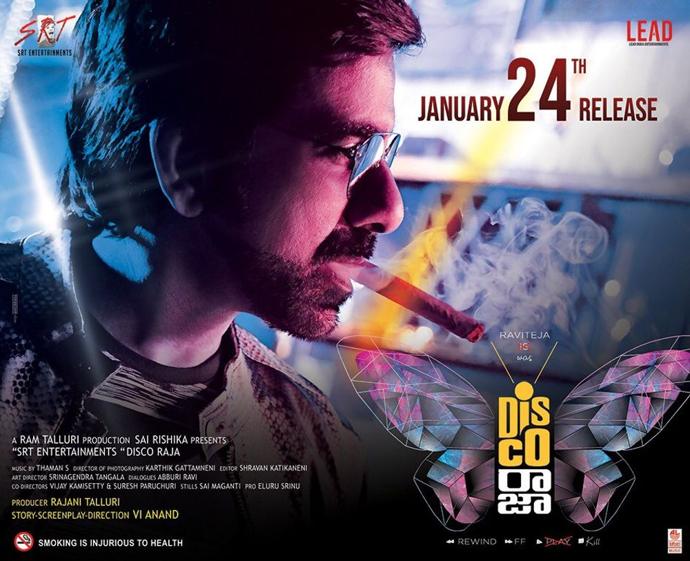 Disco Raja Day 5 Box Office Collection – 5th Day Box Office Collections Of Ravi Teja's Disco Raja