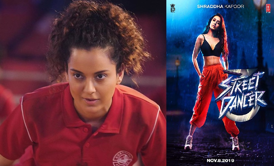 Panga & Street Dancer 3D Day 5 Collection – 5th Day Box Office Collections Of Kangana Ranaut's Panga And Varun Dhawan's Street Dancer