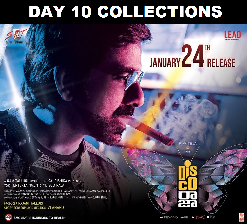Disco Raja Day 10 Box Office Collection – 10th Day Box Office Collections Of Ravi Teja's Disco Raja