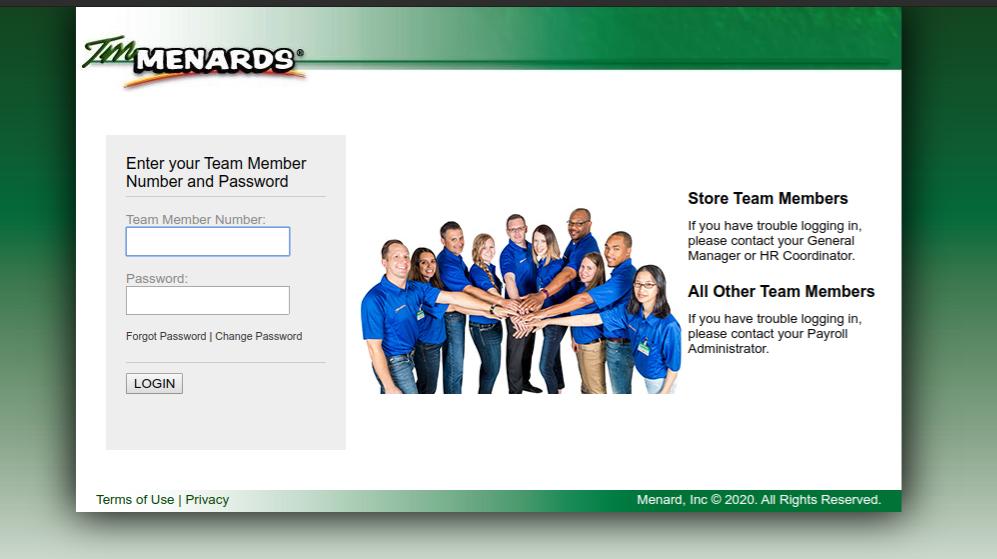 TM Menards Login - Access TM Menards Employee Account Online