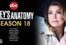 Grey's Anatomy Season 18 Release Date