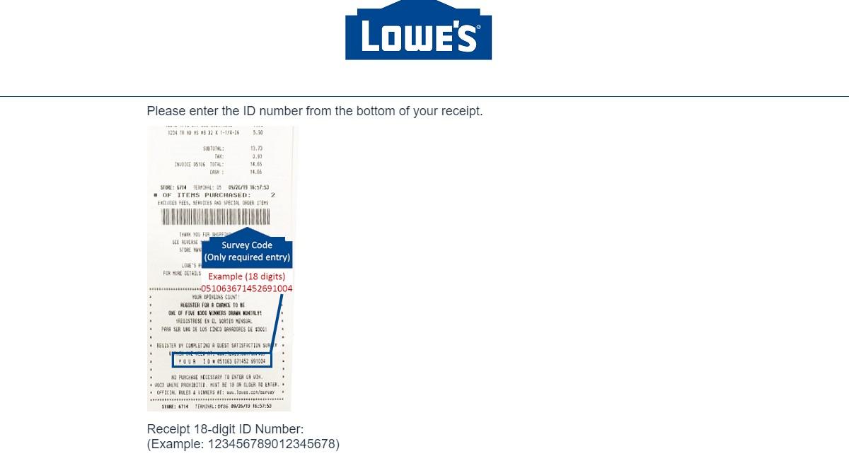 Lowe's Survey 2021 at www.lowes.com/survey - Lowes Customer Feedback