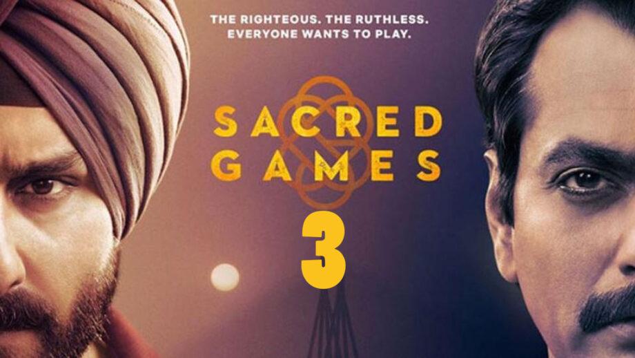 Sacred Games Season 3 Release Date Netflix | Nawazuddin Siddiqui Statement About Renewal