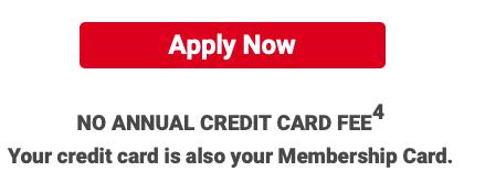 BJ's Wholesale Credit Card Application