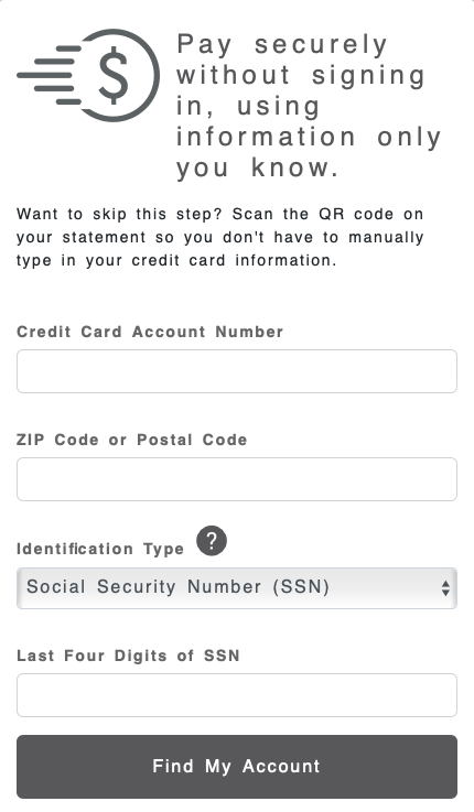 BJ's Wholesale Credit Card bill payment process