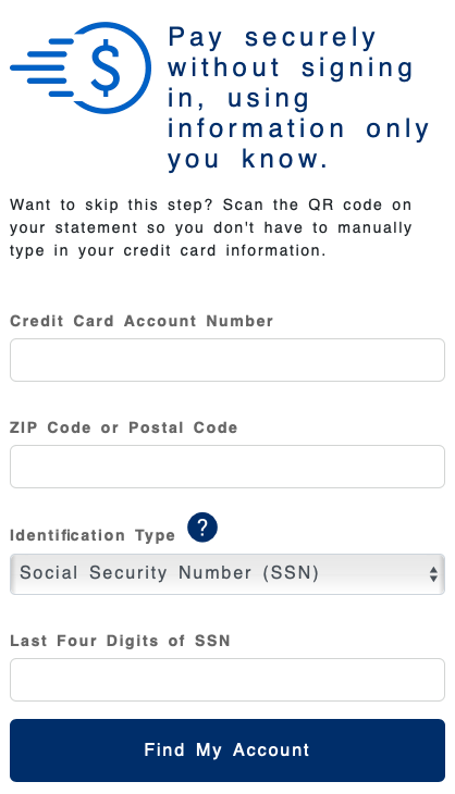 Blue Nile Credit Card bill payment