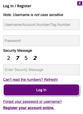 New Jersey E-ZPass Account Login