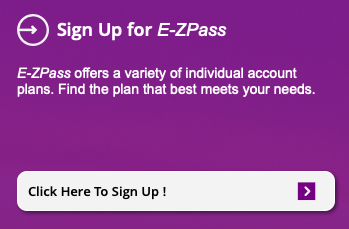 New Jersey E-ZPass Sign Up