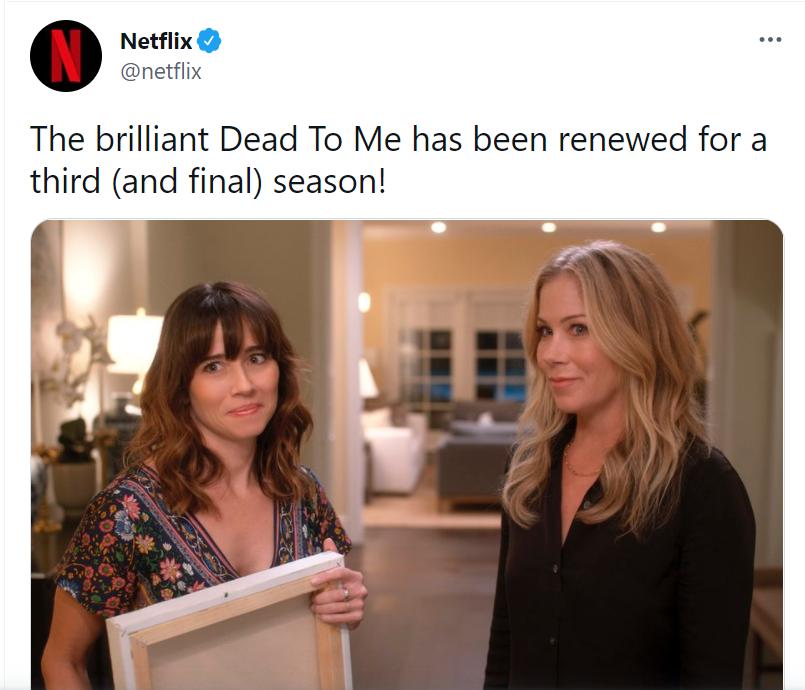 dead to me season 3 release date