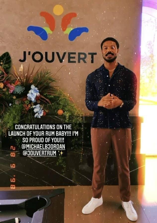 Michael B. Jordan's J'Ouvert Rum is getting Renamed