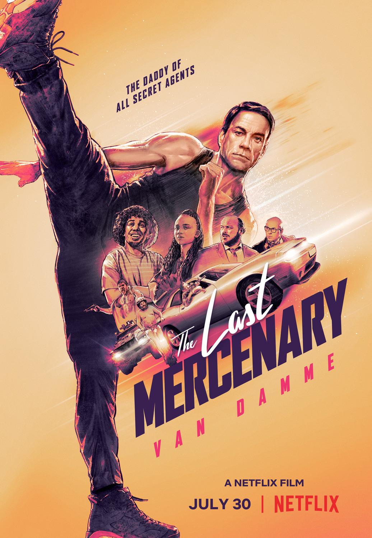 'The Last Mercenary' Crazy New Action Movie is Coming to Netflix This Week! Jean-Claude Van Damme