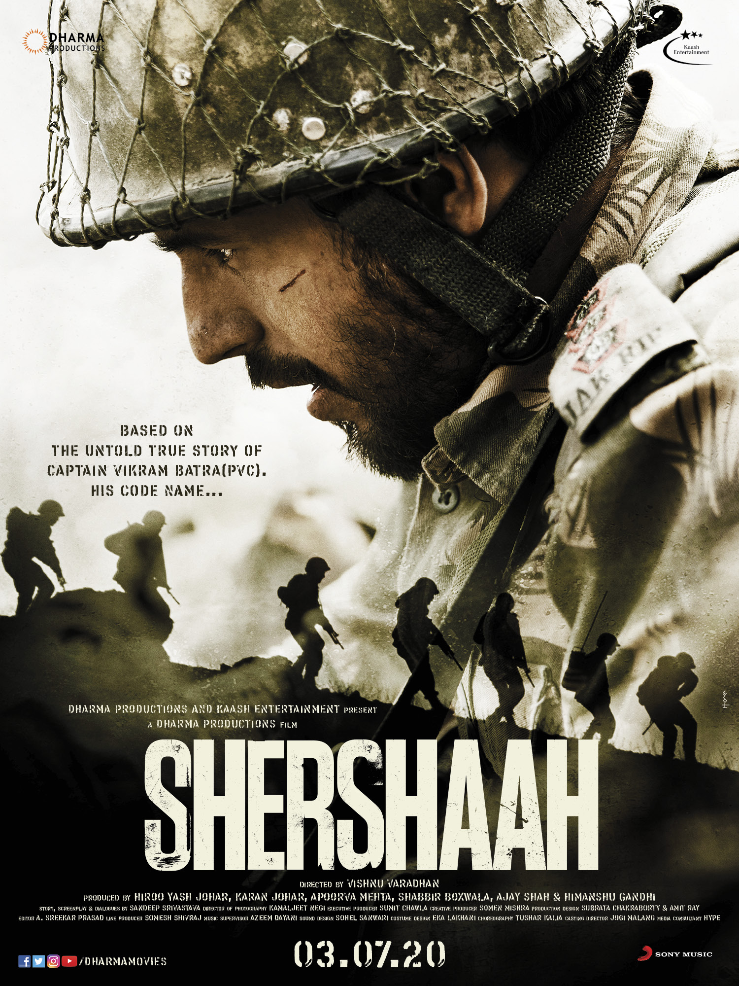 Shershaah: Kargil War Film starring Siddharth Malhotra to be released on OTT | Release Date