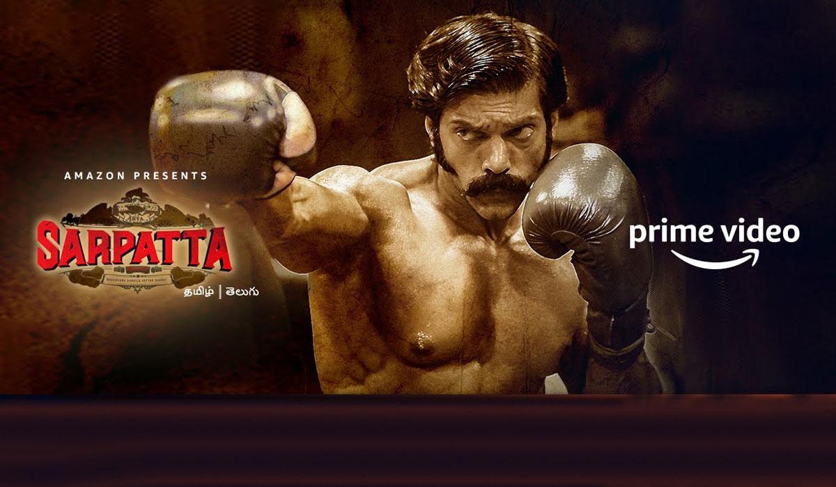 """Sarpatta Parambarai"" Full Movie Watch Online Free | Sanchana Natarajan & Arya on Amazon Prime Video"
