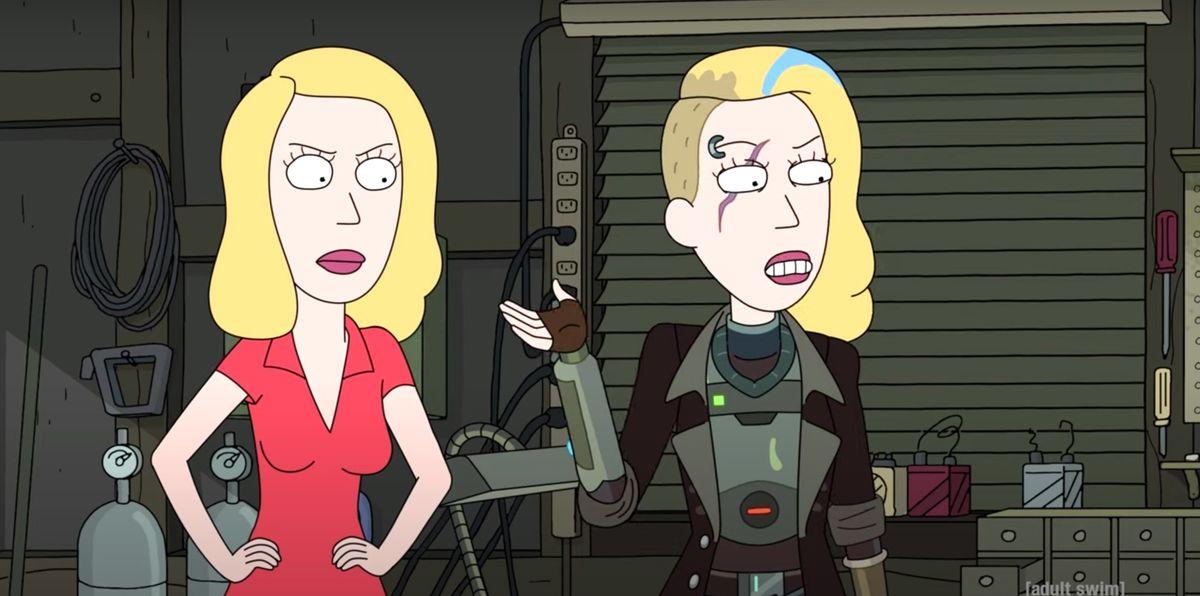 Rick and Morty Season 5 Space Beth Theory