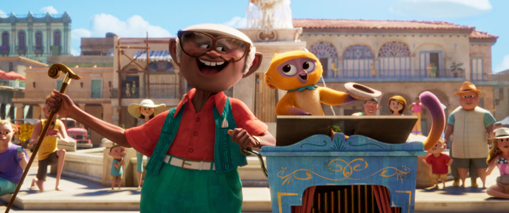 sony pictures animation musical vivo on netflix