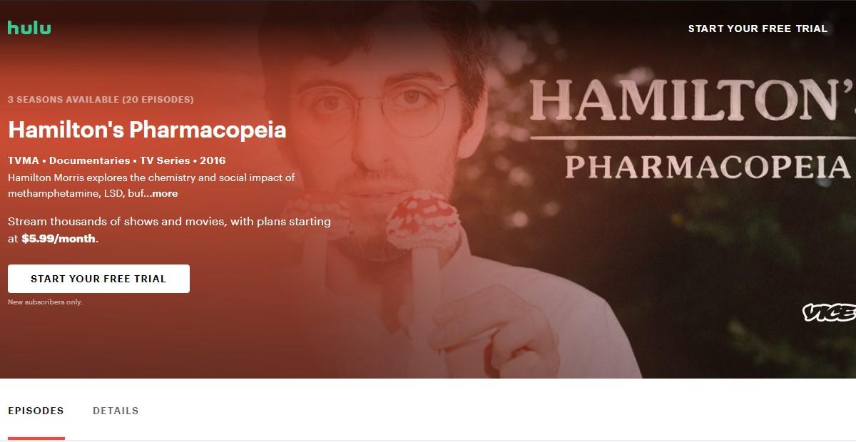 Vice: Hamilton's Pharmacopeia Season 3 Watch Online Free | 2021