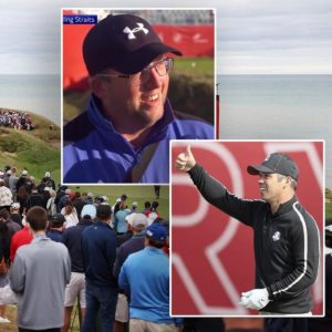 Golf fan's unwavering support for Team Europe at Ryder Cup