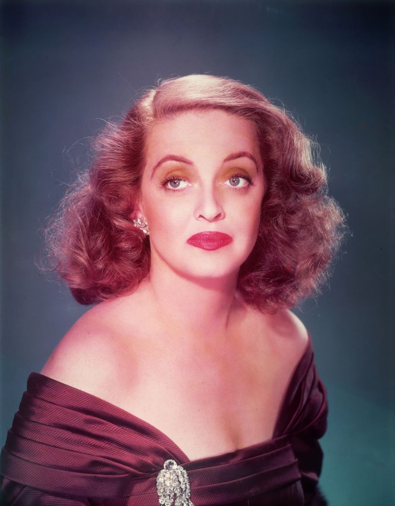 """Bette Davis in a promotional photo for the 1950 film, """"All About Eve"""" 
