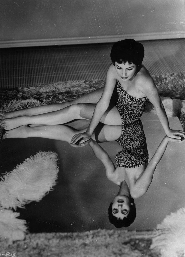American actress Susan Cabot, star of the Roger Corman film in 7th October 1954 | Photo: Getty Images