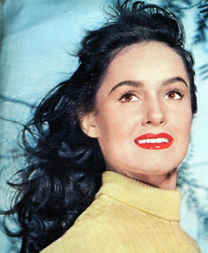 Photograph of Susan Cabot, an American film and television actress. | Photo: Getty Images