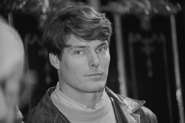 Christopher Reeve on January 20, 1984 in the UK   Photo: Getty Images