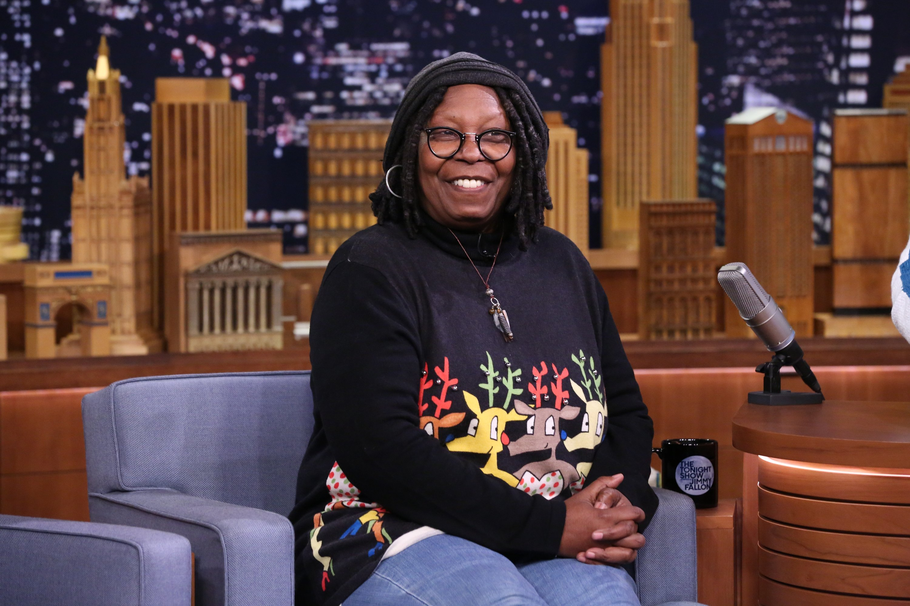 """Whoopi Goldberg pictured on """"The Tonight Show Starring Jimmy Fallon."""" 2016.   Photo: Getty Images"""