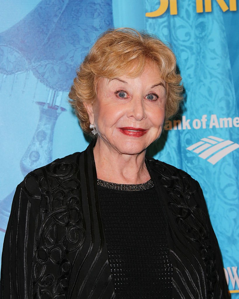 """Michael Learned at the """"Blithe Spirit"""" opening night performance at The Ahmanson Theatre on December 14, 2014 