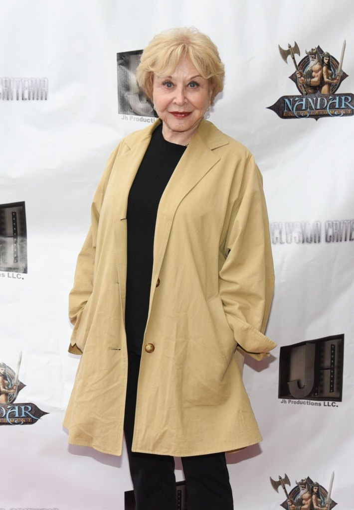 """Michael Learned at the premiere of """"Inclusion Criteria"""" at Charlie Chaplin Theatre on April 7, 2018 