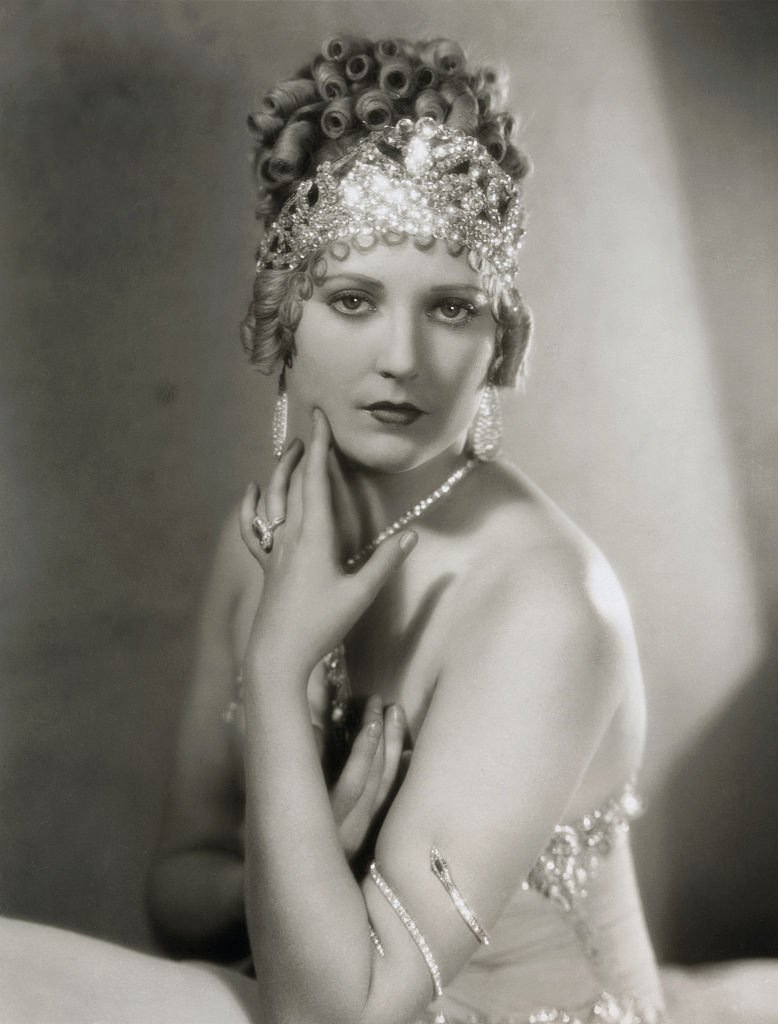 A portrait of Thelma Todd in Vamping Venus a First National Picture circa 1928 | Photo: Getty Images