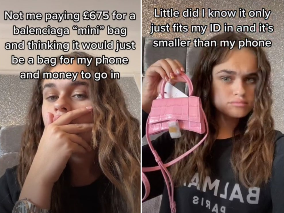 TikTok Star Explains How She Could Fit Anything Into A £675 Mini Purse