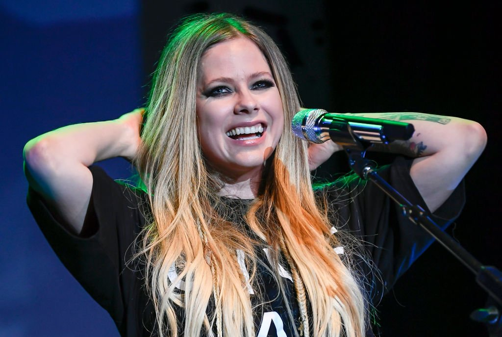 Avril Lavigne performing at Live In The Vineyard in Napa Valley, California. | Photo: Getty Images