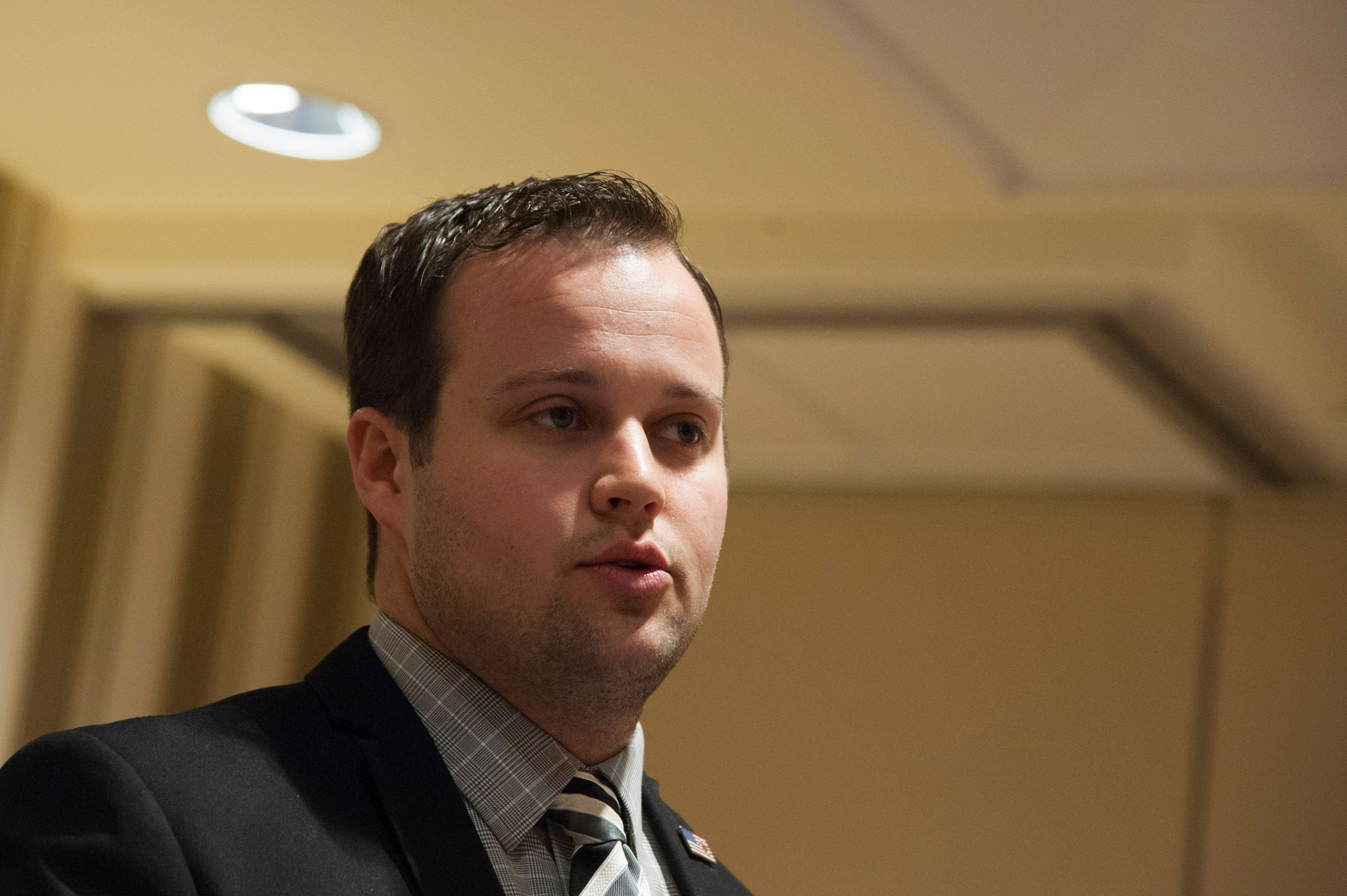 Josh Duggar speaking during the 42nd annual Conservative Political Action Conference at the Gaylord National Resort Hotel and Convention Center in National Harbor, Maryland | Photo: Kris Connor/Getty Images