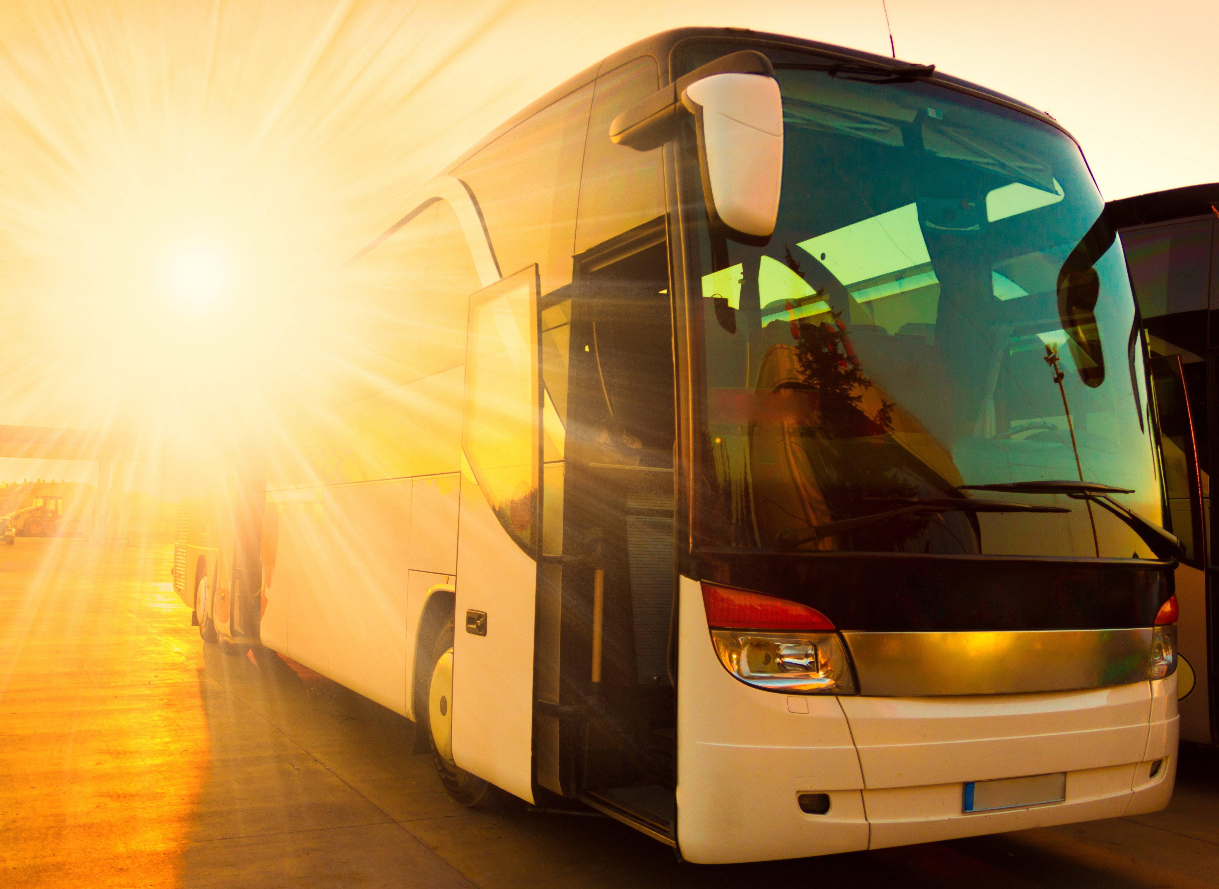 A bus.   Source: Shutterstock