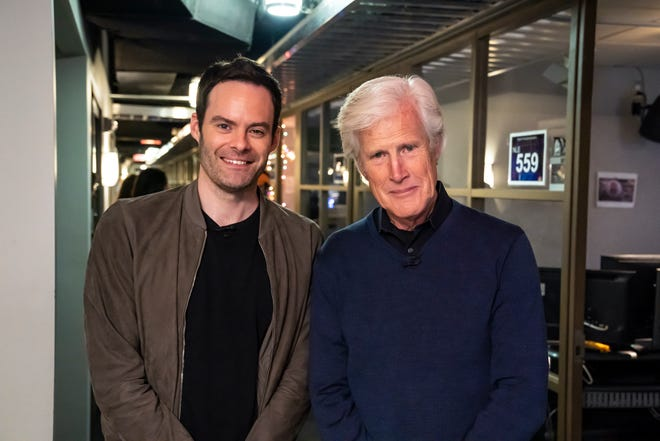 "Bill Hader and ""Dateline NBC"" correspondent Keith Morrison"