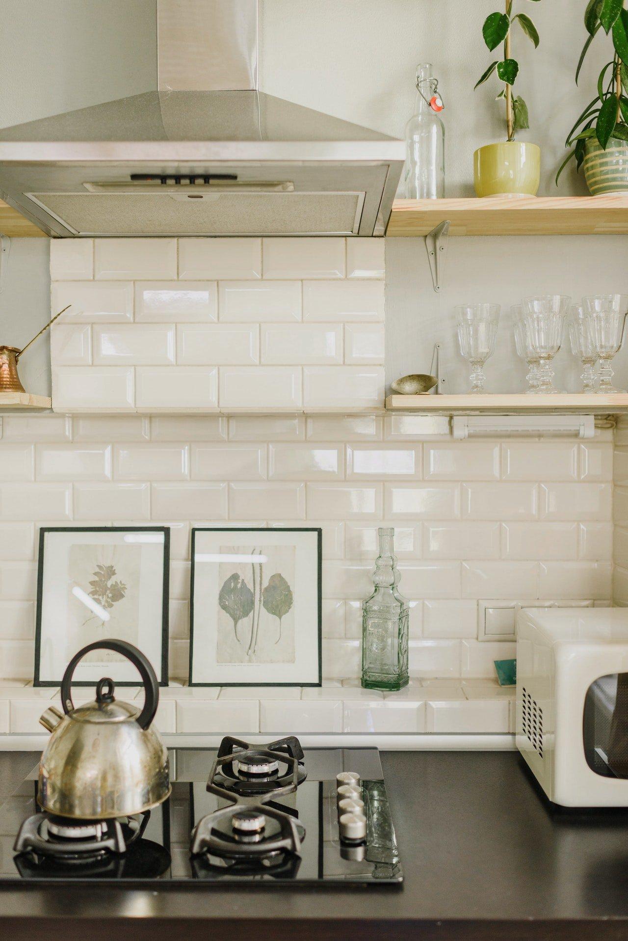 Mrs. Gordon forgot the tea kettle on the stove.   Source: Pexels