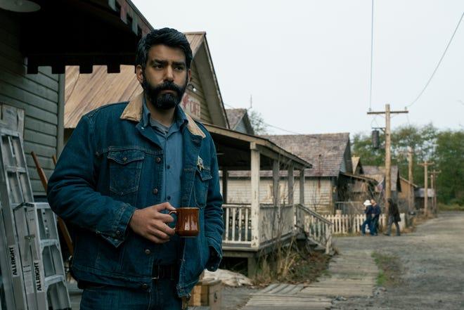 "Sheriff Hassan (Rahul Kohli) is a Muslim lawman recently moved to Crockett Island in ""Midnight Mass."""