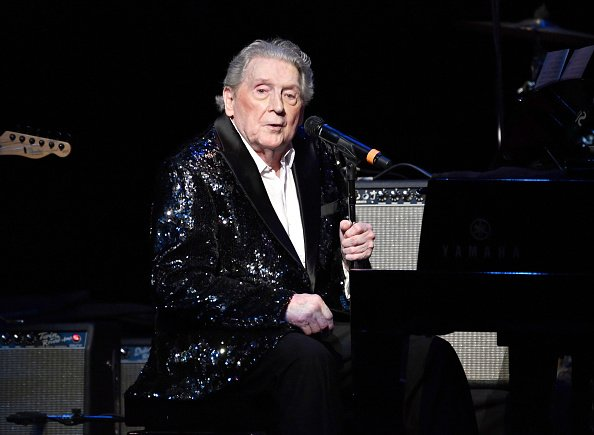 Jerry Lee Lewis at Cerritos Center for the Performing Arts on November 17, 2018 in Cerritos, California |