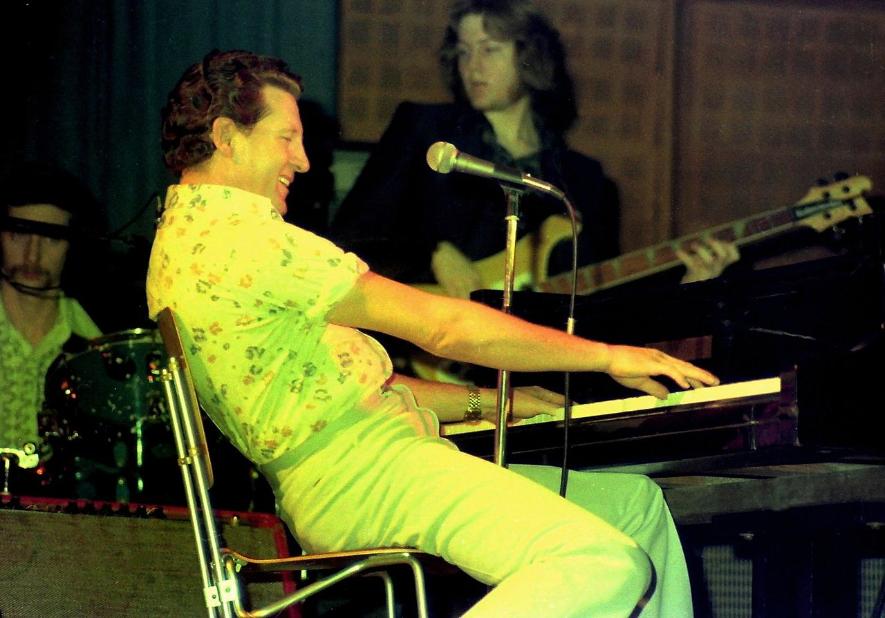 Portrait of Jerry Lee Lewis circa 1977 | Photo: Wikimedia Commons