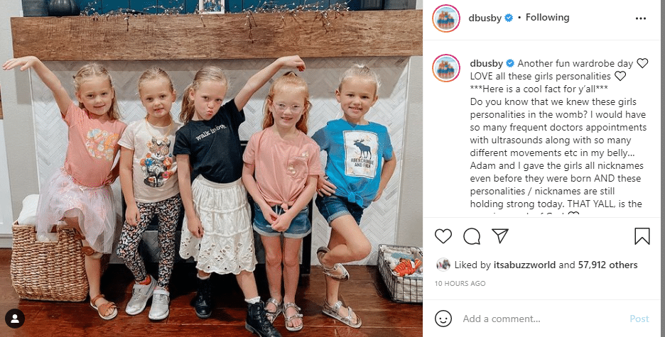 Danielle Busby Reveals That Her Children Were Nicknamed According to their Own Personalities In Utero