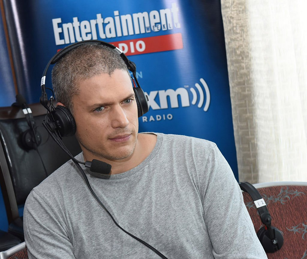 Actor Wentworth Miller attends SiriusXM's Entertainment Weekly Radio Channel Broadcasts From Comic-Con 2016 at Hard Rock Hotel San Diego on July 22, 2016.  