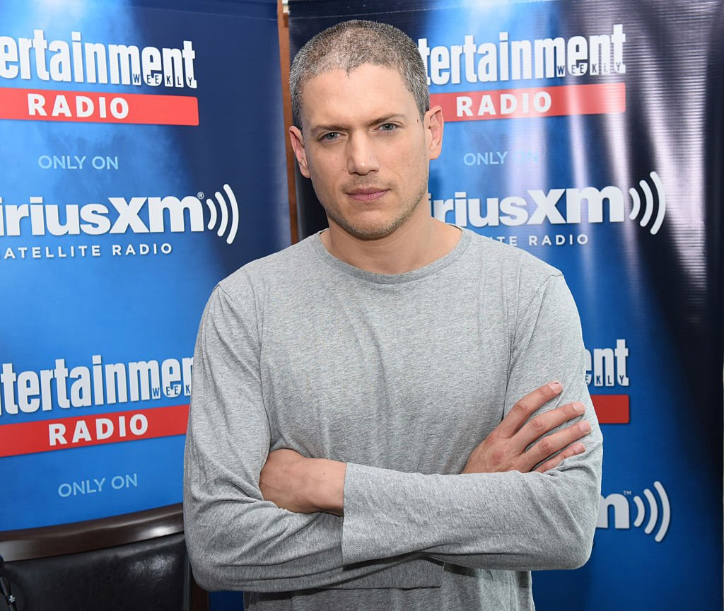 Wentworth Miller attends SiriusXM's Entertainment Weekly Radio Channel Broadcasts at Hard Rock Hotel San Diego on July 22, 2016.  