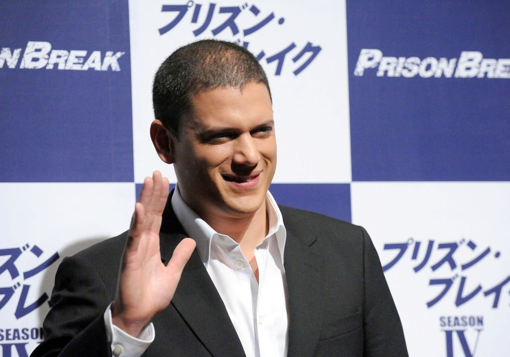 "Wentworth Miller attends the ""Prison Break"" press conference at Park Hyatt Tokyo on December 17, 2008.  "