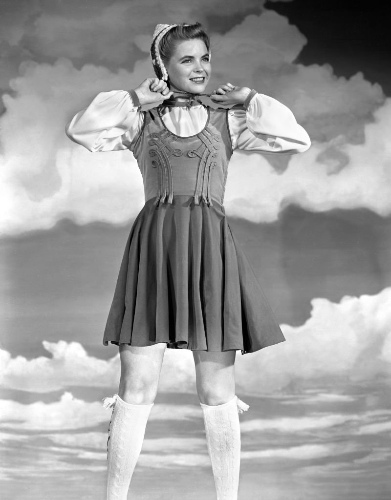 Fashion portrait of CBS Radio actress, Dorothy McGuire on October 11, 1940. |