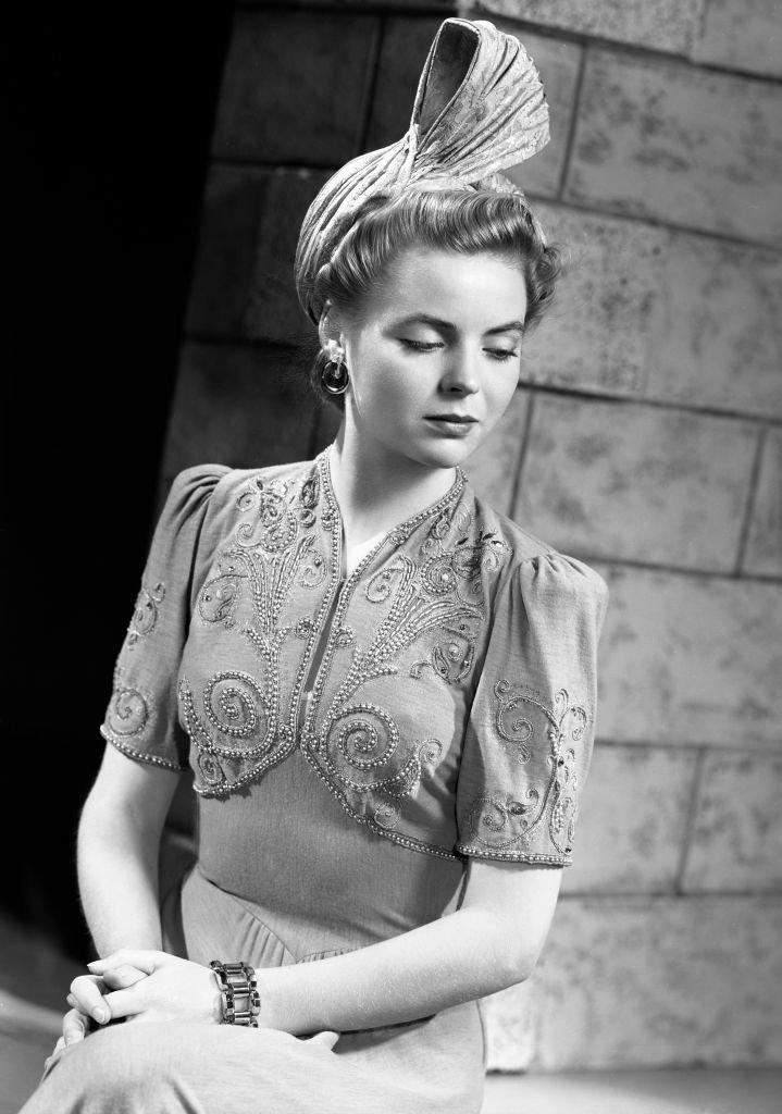 Fashion portrait of CBS Radio actress, Dorothy McGuire taken on October 11, 1940. |
