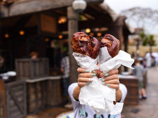 Iconic Disney Theme-Park Menu Items From Around the World