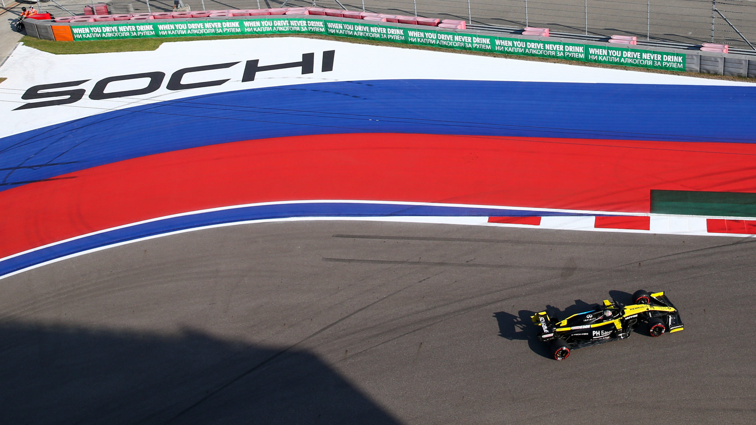 F1 Russian Grand Prix Hamilton 4th on grid Lando Norris first Ever pole!