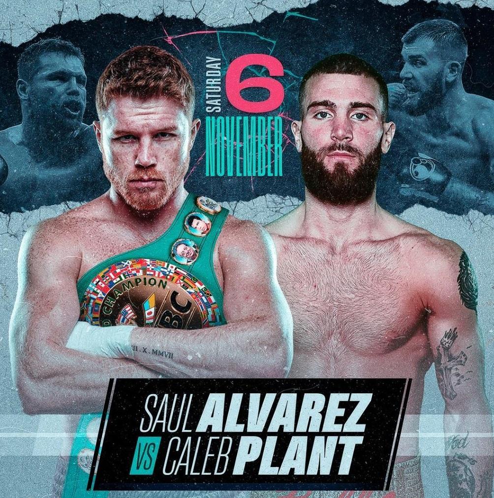 Canelo Alvarez vs Caleb Plant MMA Messy Press Conference brawl Might get The Fight Scrapped!